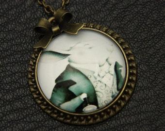 Necklace rabbit alice  2525C