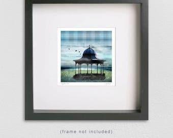 Signed SCOTTISH Fine Art Print - Magdalen Green, Dundee, Scotland (FREE UK p&p)