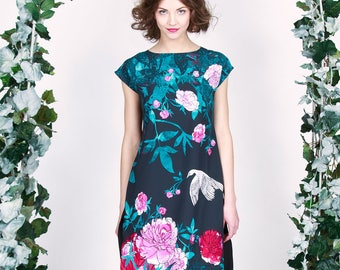Paradise Garden - oversize tunic