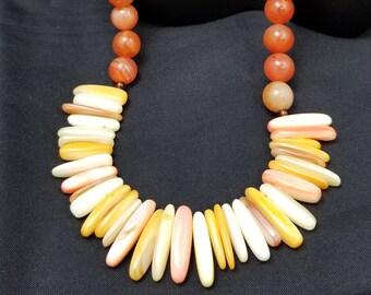 Sunburst Mixed Necklace