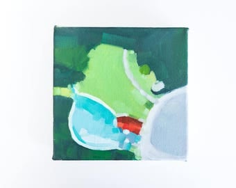 Swimming Pool Painting - Oil on Canvas