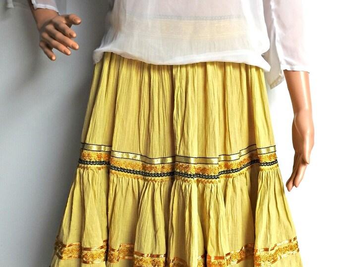 Esmeralda style skirts, Ladies Chiffon Skirts Long, Maxi Skirts Summer, beach party skirt evening, gypsy skirts, boho skirt bohemian women,