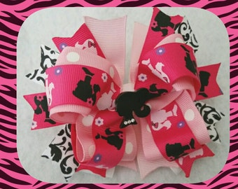 Barbie stacked bow