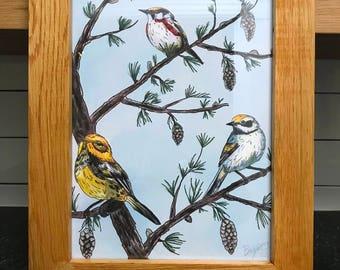 Warblers tree