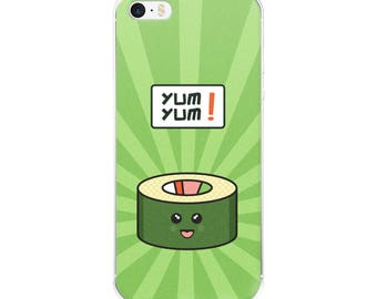 Sushi Happy Fun Time Foodie iPhone Case