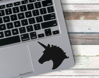 Unicorn Head                  , Laptop Stickers, Laptop Decal, Macbook Decal, Car Decal, Vinyl Decal