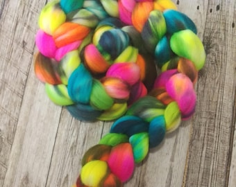 Flower Child - Hand Dyed South American Top - 4 ounces