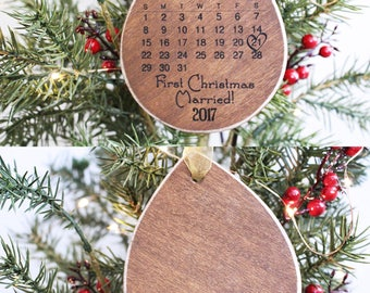 First christmas married   Etsy