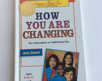 Vintage Children's Book How You Are Changing