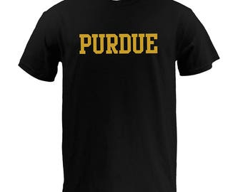 Purdue Boilermakers Basic Block T-Shirt