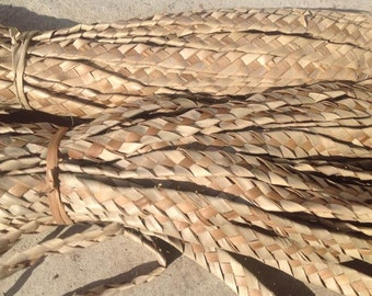 Rumba Braids Palm Leaves For Polynesian Costume.