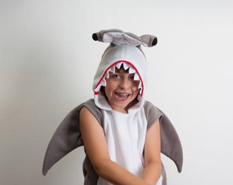 hammerhead shark costume halloween costume party costume halloween costume for boys or girls - Halloween Costume Shark