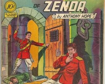 Classics Illustrated N0. 76 The Prisoner of Zenda - Comic Book