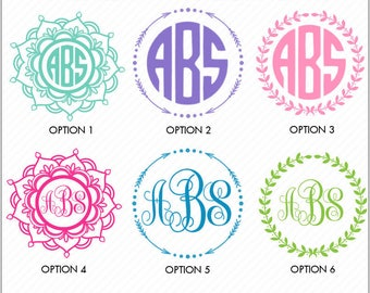 Monogram Decal, Monogram Sticker, Yeti Monogram, Monogram Tumbler Decal, Tumbler Monogram, Cup Monogram, Monogram Decal Car, Car Monogram