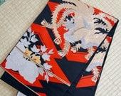 Phoenix red black Japanes...