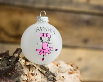 Ballet/Dancer Christmas Ornament - Personalized for Free