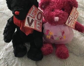 Stuffed/Plush Bear Set