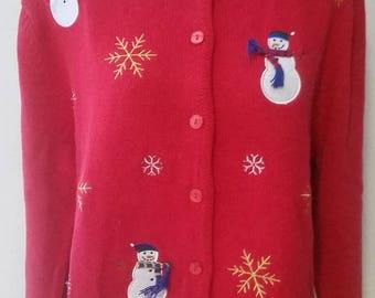 large ugly Christmas sweater