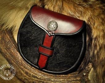 Leather Kilt Belt Bag Sporran