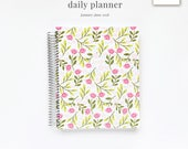 2018 Daily Planner | Six-Month Planner, 2018 Diary, Daily Agenda, Appointment Book, Softcover Planner, Style No. JAN18/SCPPF