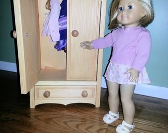 American Girl doll or any 18 inch doll Armoire