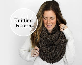 Knitting Pattern Baltimore Cowl Instant Download