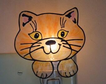 Tabby Cat Night Light