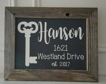10x14 Framed Sign - Realtor Sign - New Home Sign
