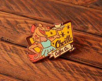 Chortle Coffee Co. - Hard Enamel Pin