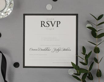 EMMA // Wedding Stationery // RSVP