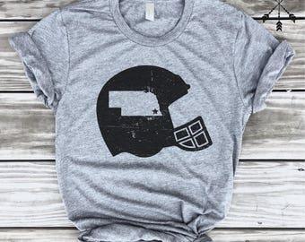 Football Nebraska tshirt, Frost, Nebraska Football, Football shirt, Home T-shirt, Nebraska graphic t, state pride tshirt,  free ship,