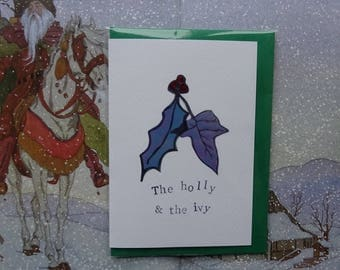 The Holly & the Ivy Special Christmas Card