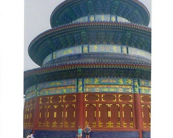 Temple of Heaven Photo Card