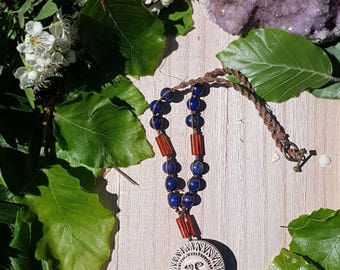 FLASH SALE Here comes the Sun - From Blues we Rise Collection - OOAK sun choker