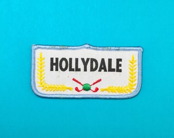 Hollydale Golf Sew-On Patch