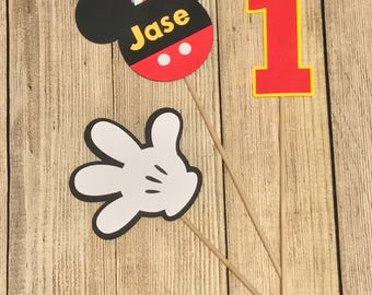 Mickey Mouse Inspired Centerpiece - 15 Pieces - Birthday Themed
