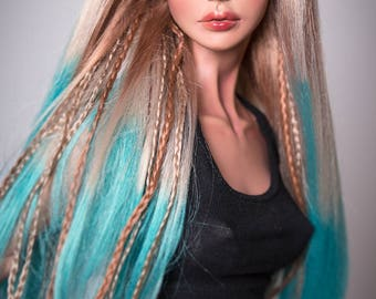 Skyfall (synmohair wig for bjd SD, MSD, Tiny)