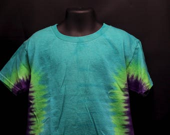 Tie Dye Kids T-Shirt, Trippy Children's Top, Cute Hippie Toddler Tee