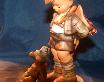 """Antique M I HUMMEL """"Not For You"""" TM3 by W. Goebel Incised  #317 and 1955 Current Value = 475 dollars. BIG DISCOUNT now!"""