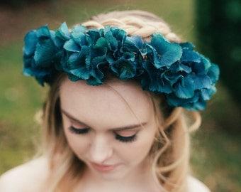 Aurora Hydrangea Flower Crown