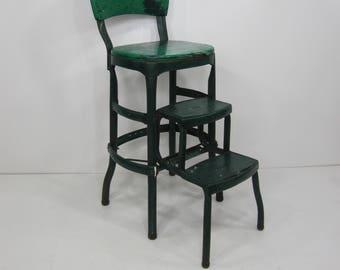 Vintage Cosco Stool Step Stool Kitchen Stool Chair