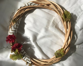 Fall Sprig Wreath