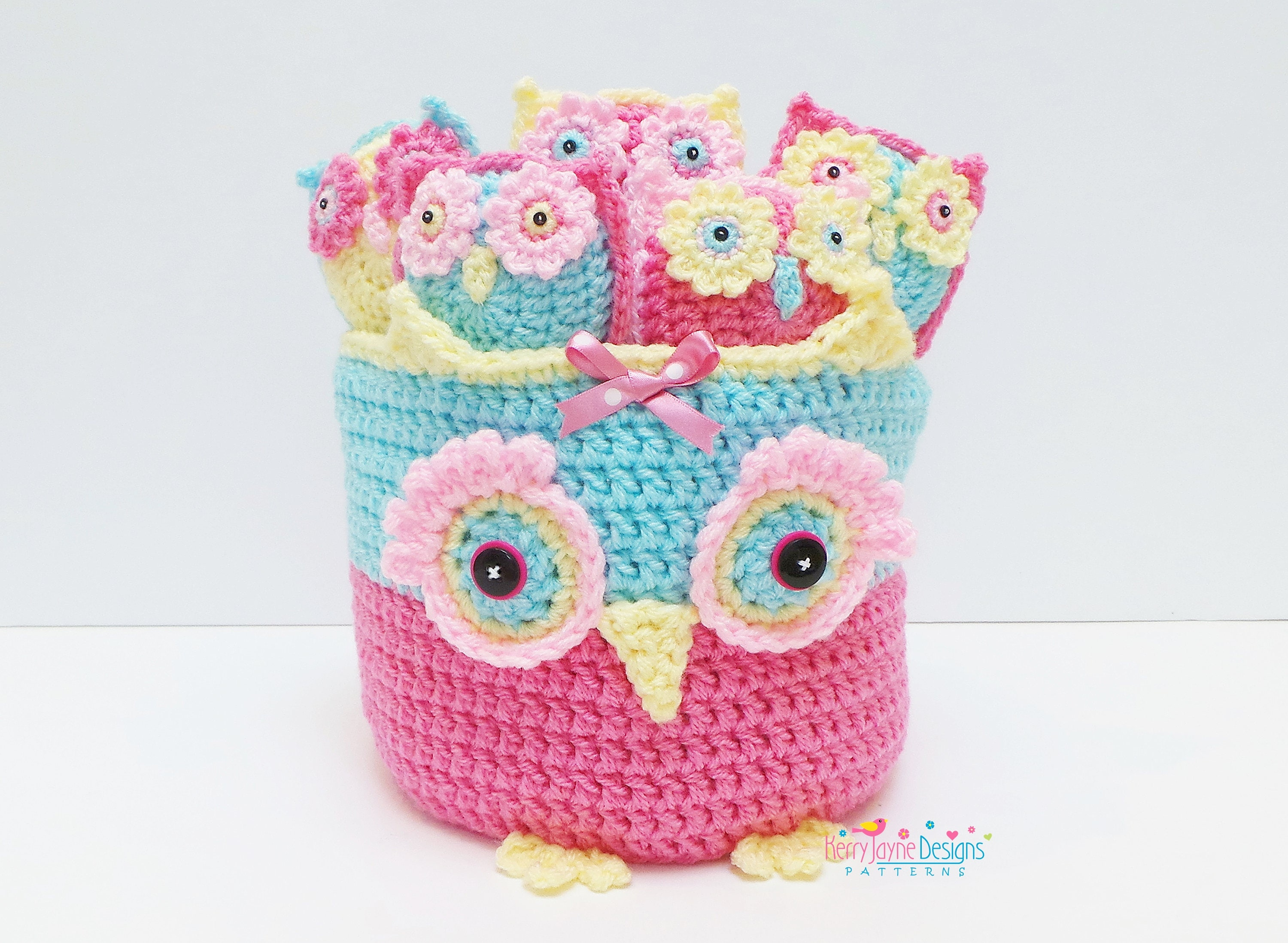 Kerrys owl basket and owlets crochet pattern crochet zoom bankloansurffo Images