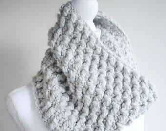 Crochet Pattern - Cowl Pattern / Scarf Pattern / DIY Gift for Women / Bulky Cowl Pattern by Hidden Meadow Crochet - Chrysalis Cowl P137
