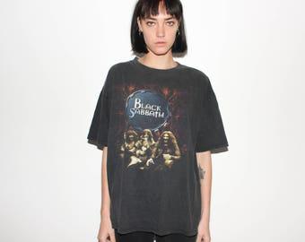90s Black Sabbath Reunion Tour T Shirt