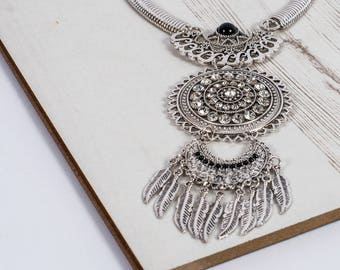 The Black Bohemian Beauty Statement Necklace