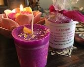 LAKSHMI Votive Candle - PROSPERITY, FORTUNE