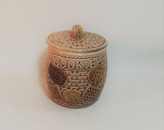Vintage Small Cookes/Wafers Cookie Jar