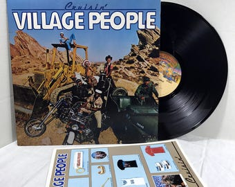 Village People Cruisin' vinyl record 1978 EX - YMCA