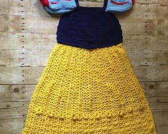 Snow White Princess Dress Blanket